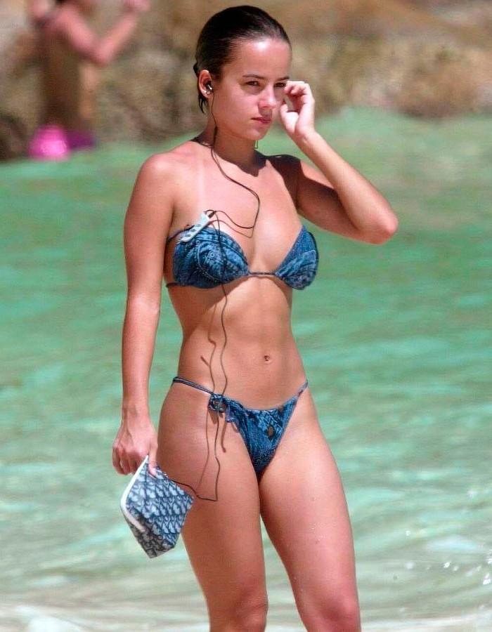 Alizée fotos vacaciones Seychelles cuerpo bikini 2