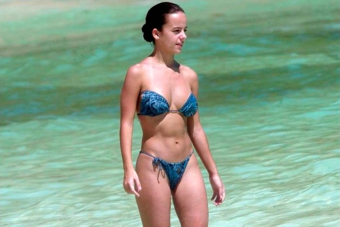 Alizée fotos vacaciones Seychelles cuerpo bikini 4