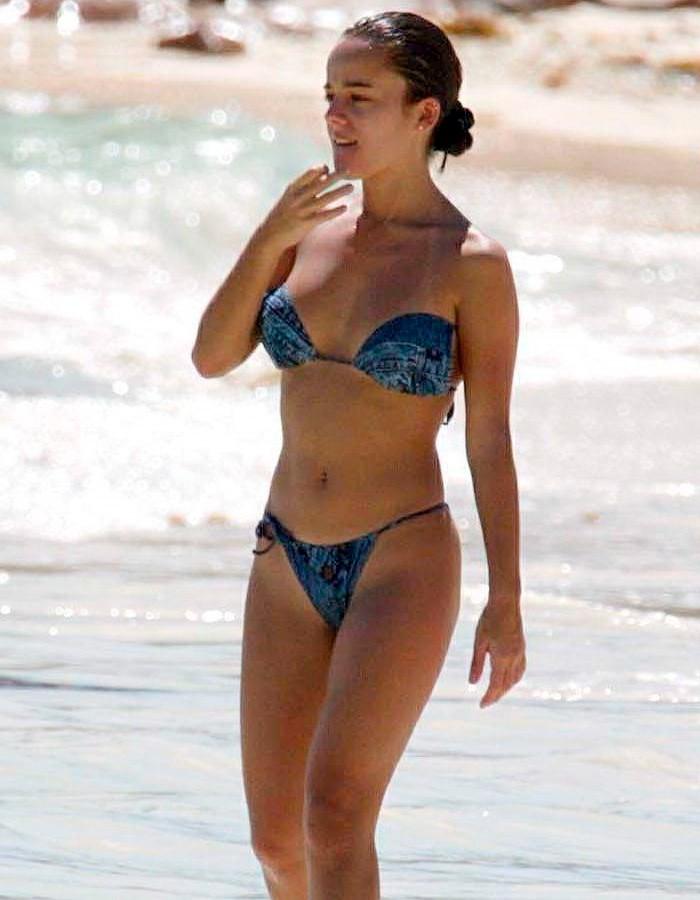 Alizée fotos vacaciones Seychelles cuerpo bikini 5
