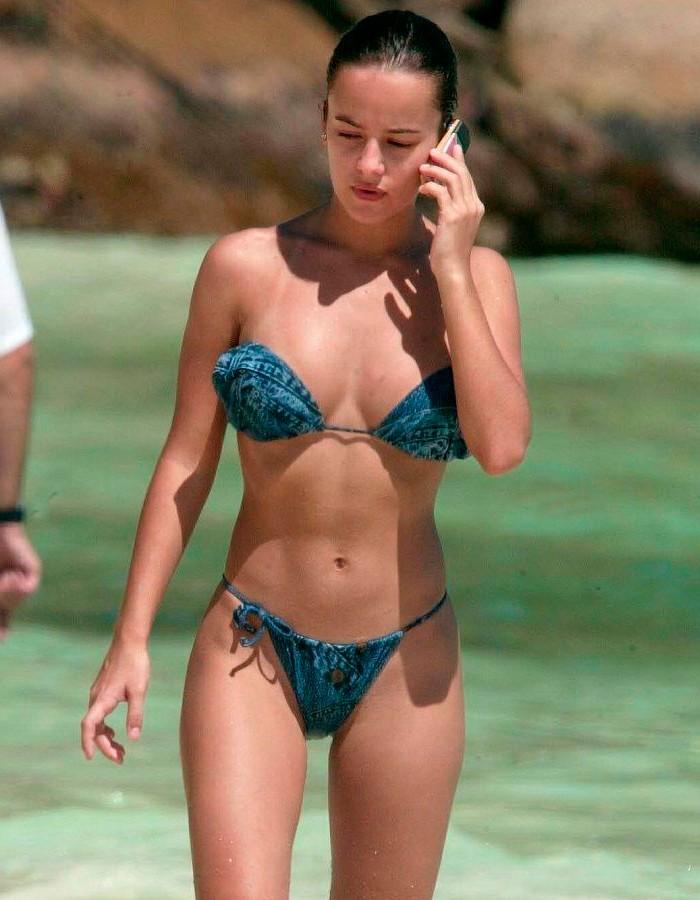 Alizée fotos vacaciones Seychelles cuerpo bikini 6