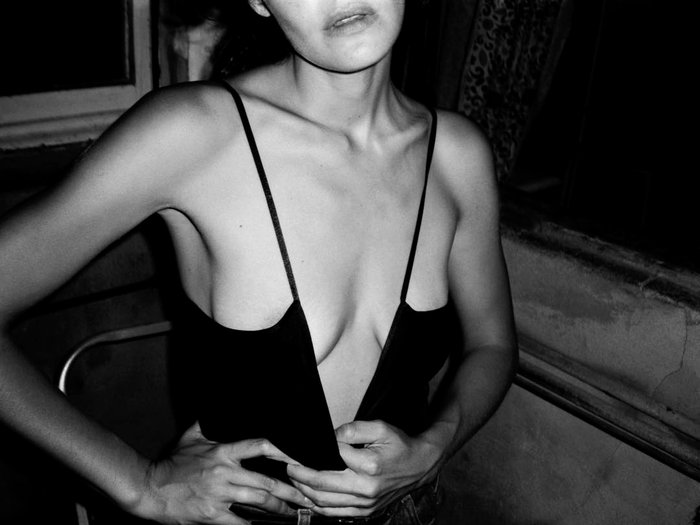 Ana Rujas posado moda lencería revista erótica 4