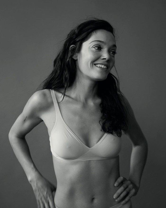 Ana Rujas posado moda lencería revista erótica 8