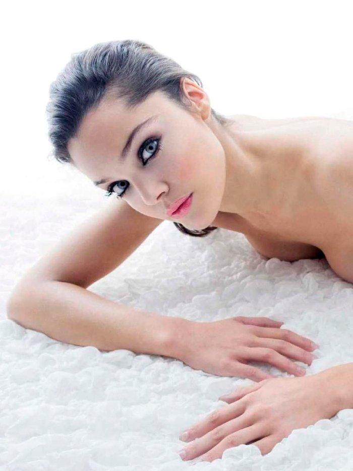 Ana Rujas sesión fotos eróticas lencería 6