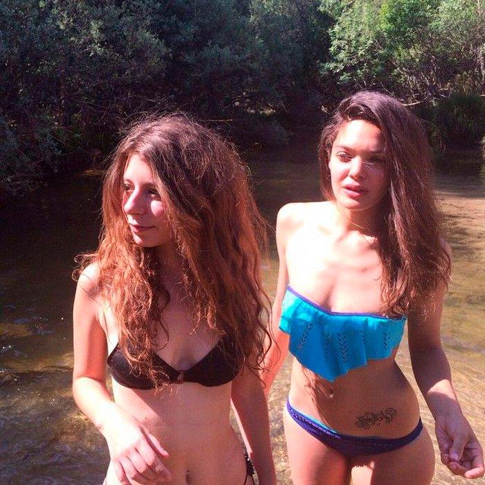Ana Rujas sexy fotos bikini amiga
