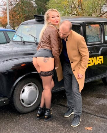 Kayla Green Female Fake Taxi