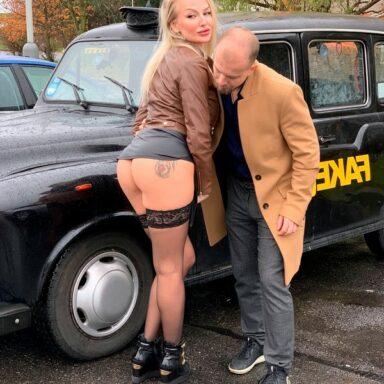 Kayla Green Female Fake Taxi