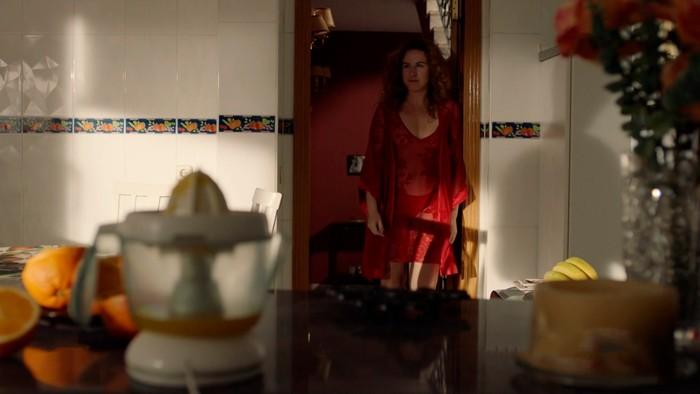 Lucía Quintana vestido sexy Matadero