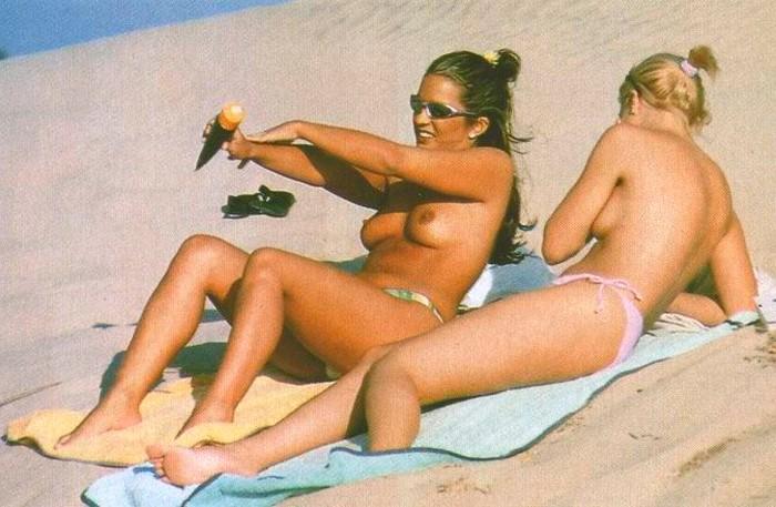 Marta López pillada topless Interviu 10