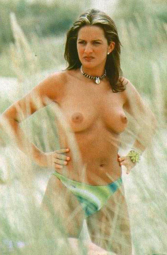 Marta López pillada topless Interviu 4