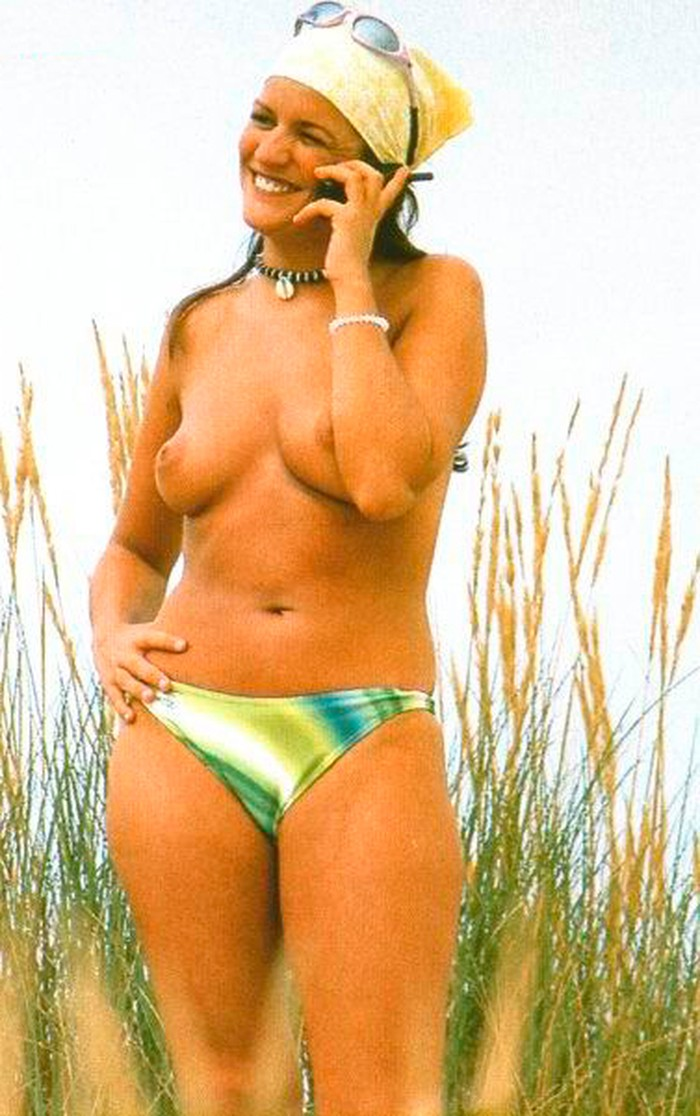 Marta López pillada topless Interviu 7