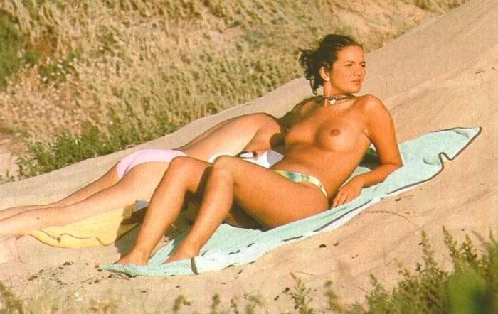 Marta López pillada topless Interviu 8