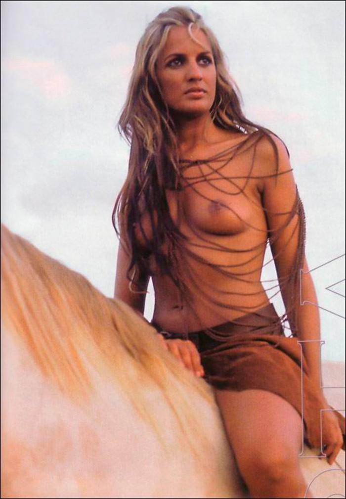 Marta López posado revista erótica