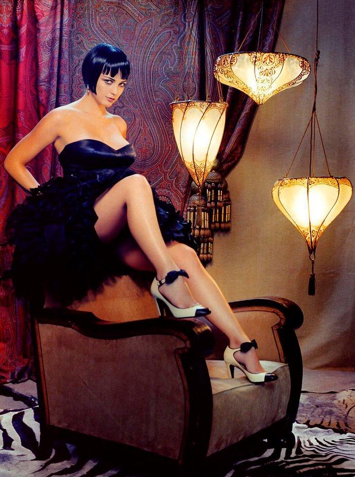 Leonor Watling posado erótico lencería 4