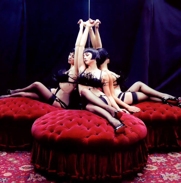 Leonor Watling posado erótico lencería 5
