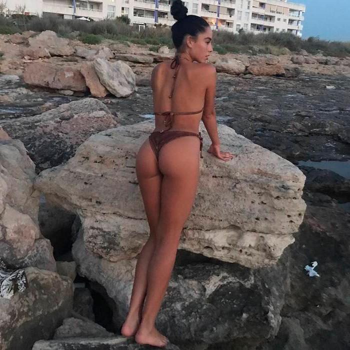 Macarena Millán fotos sexys bikini bañador culo tanga