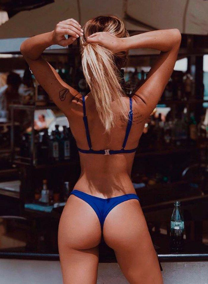 Oriana Marzoli concursante Doble Tentación bikini