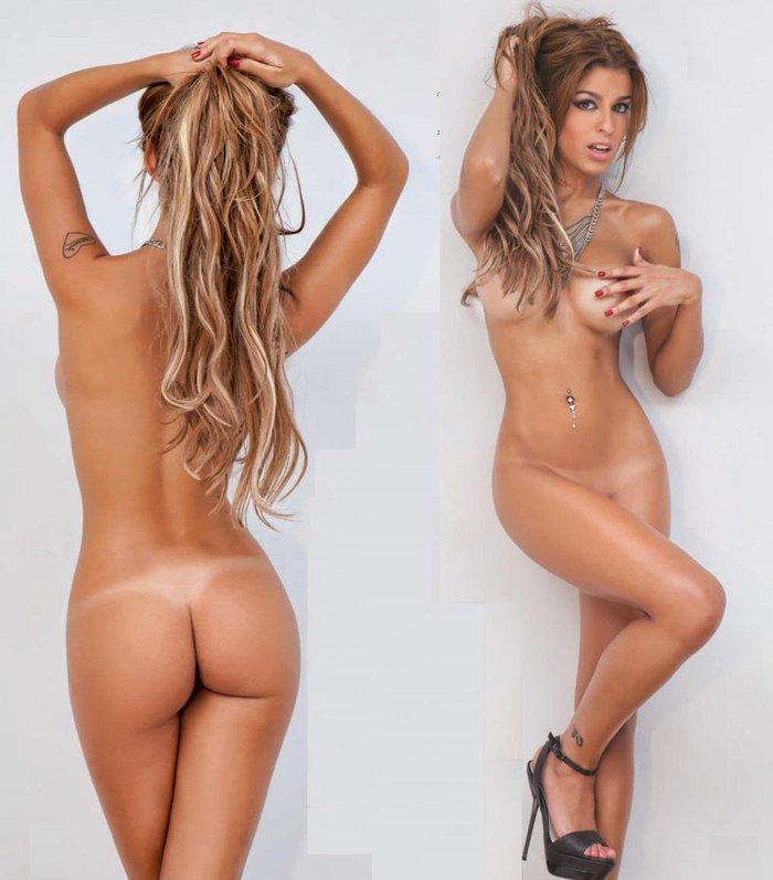 Oriana Marzoli desnuda fotos revista Primera Línea