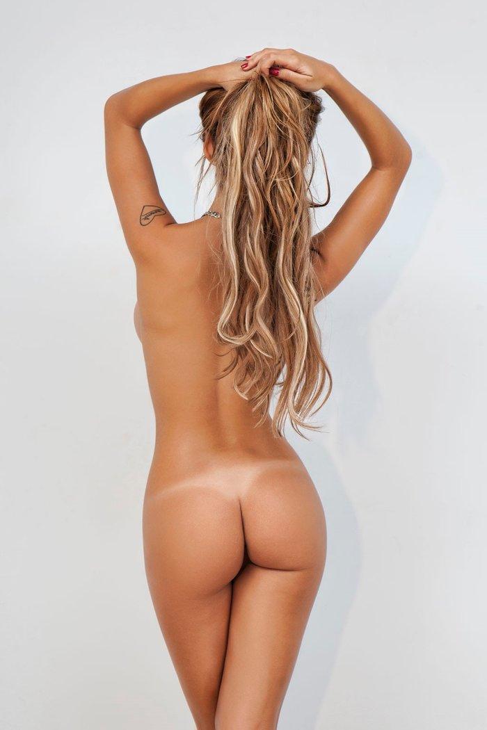 Oriana Marzoli desnuda sesión fotos revista Primera Línea 2