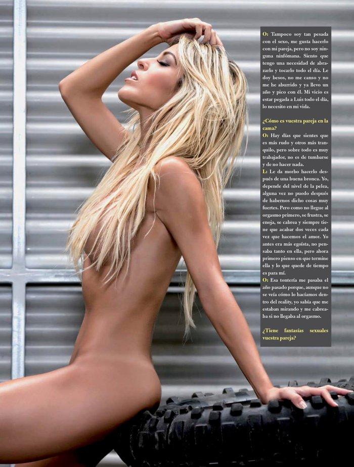 Oriana Marzoli desnuda sesión fotos revista Primera Línea 5