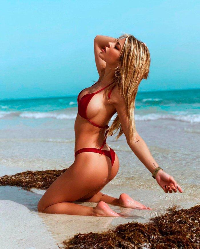 Oriana Marzoli fotos Instagram bikini espectacular cuerpo 5