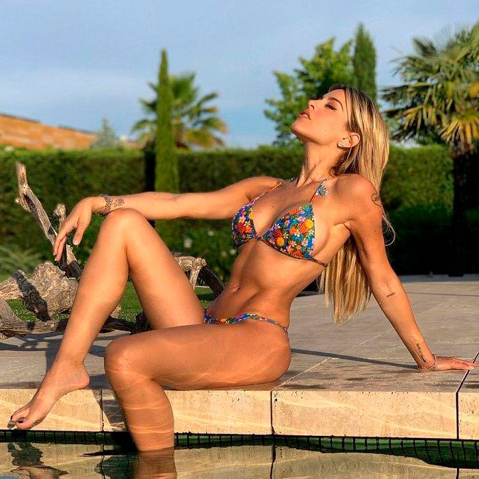 Oriana Marzoli fotos Instagram bikini espectacular cuerpo 9