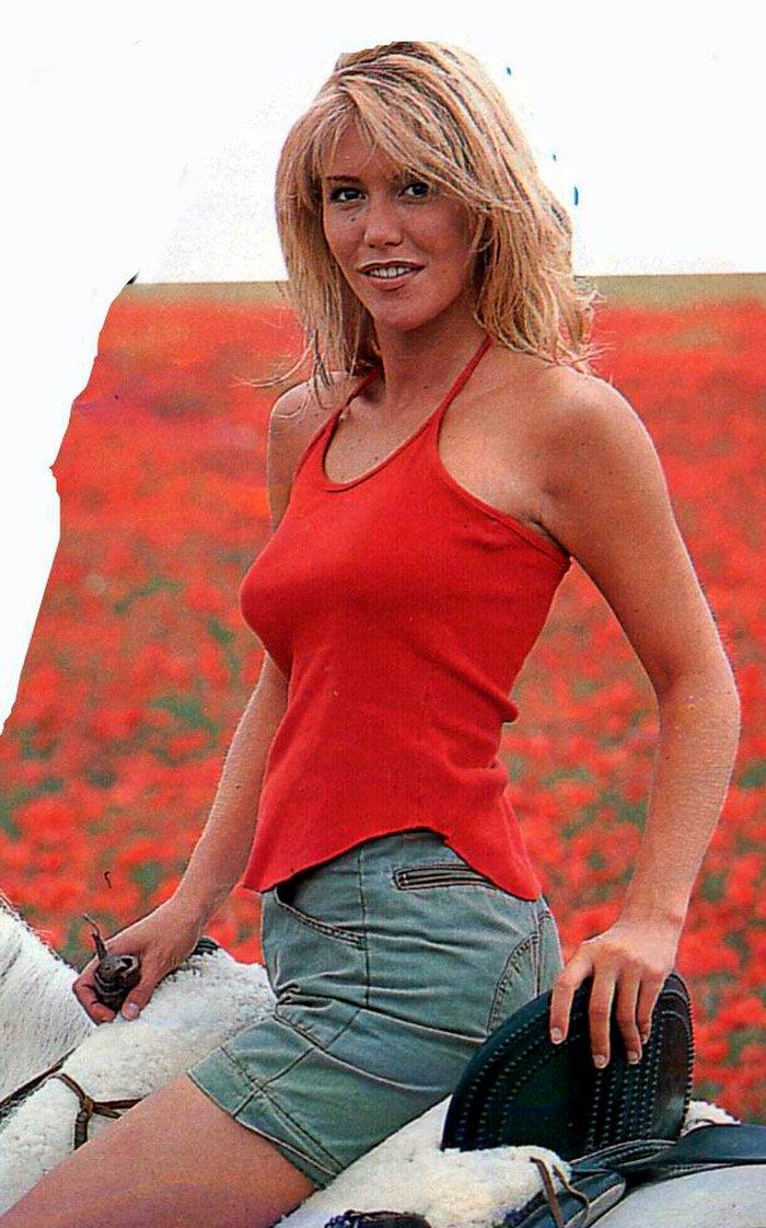 Raquel Meroño sexy modelo actriz presentadora española televisión 4