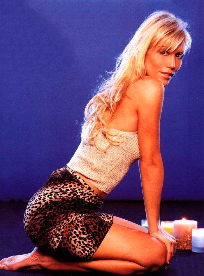 Raquel Meroño sexy modelo actriz presentadora española televisión 7
