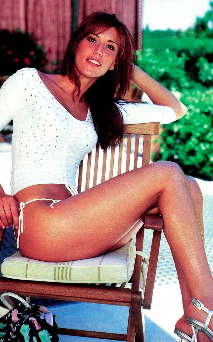 Raquel Merono joven fotos televisión