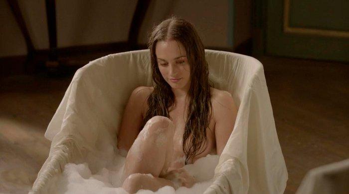Silvia Alonso desnuda Tierra Lobos