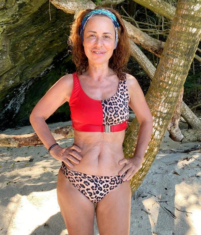 Vicky Larraz bikini caribe reality Supervivientes 2020 Telecinco