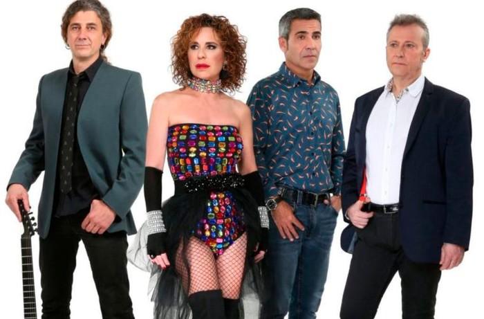 Vicky Larraz cantante grupo Olé Olé
