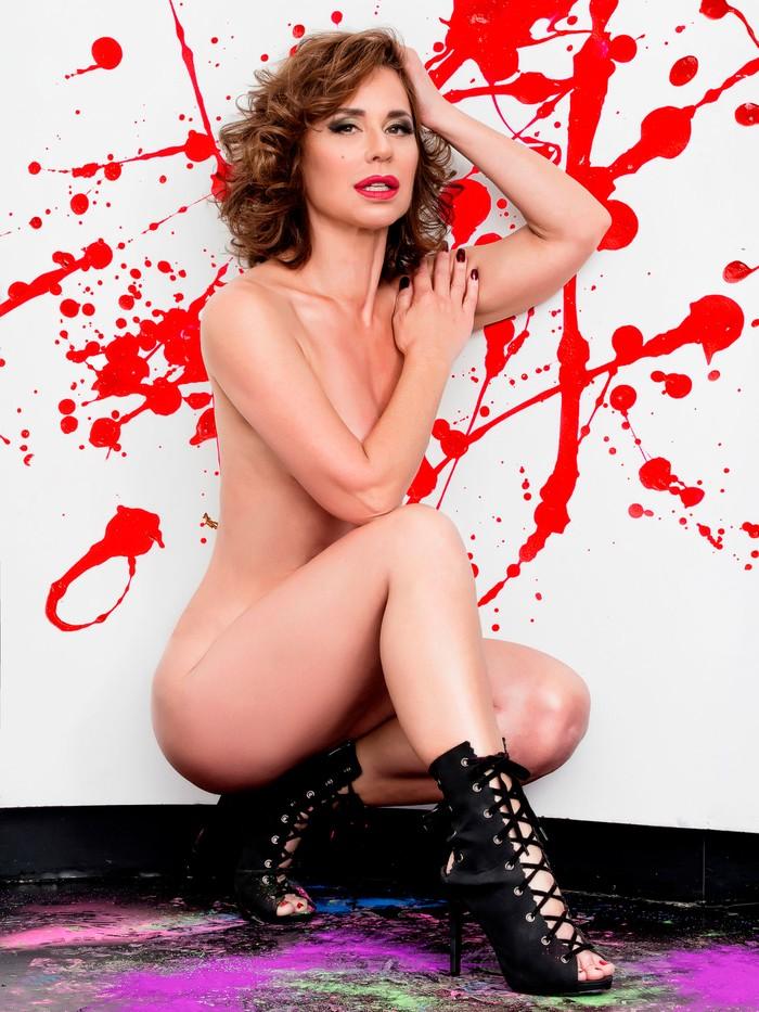 Vicky Larraz desnuda revista Primera Línea