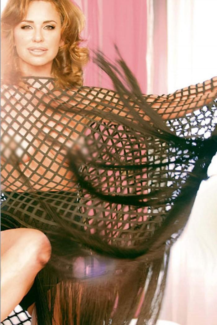 Vicky Larraz icono pop 80 desnuda Supervivientes