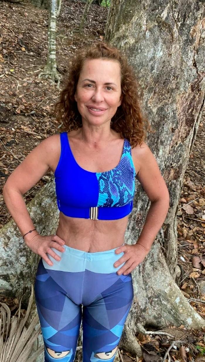 Vicky Larraz vestido apretado top playa