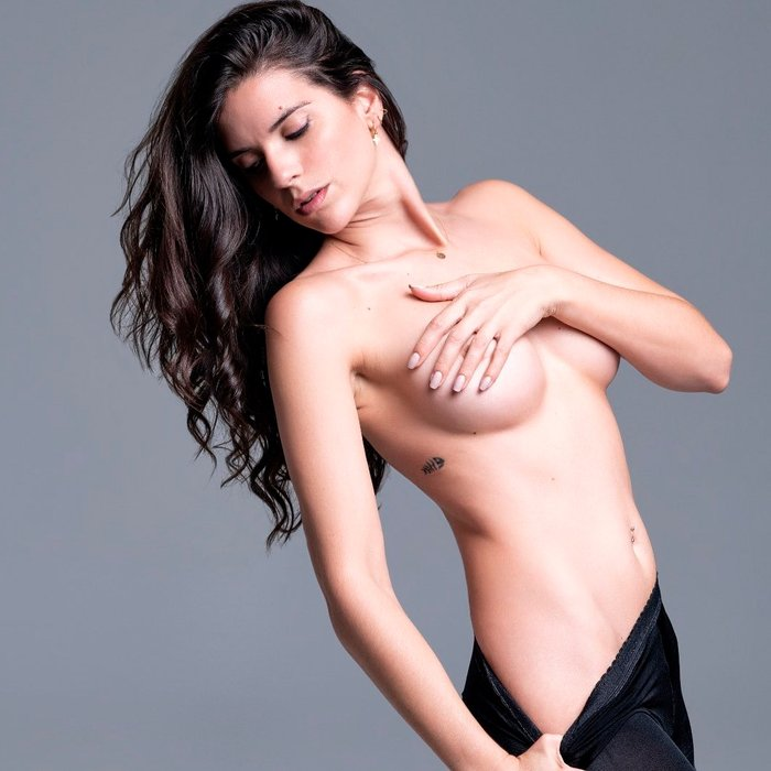 Ana Caldas Topless Fotos Eróticas