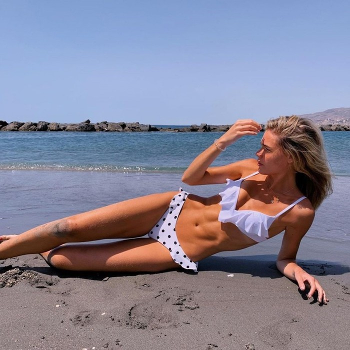 Ana Soria Posado Bikini Playa