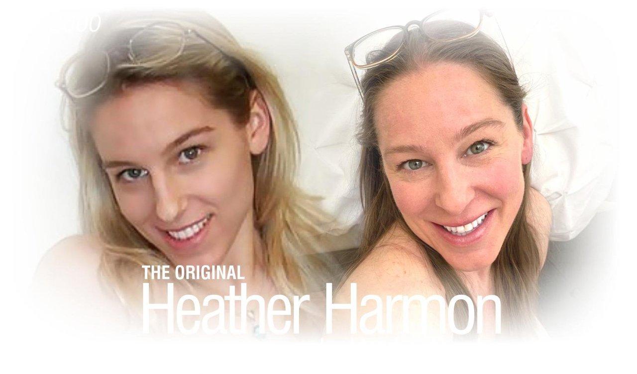 Heather Harmon Actriz Amateur Antes Después