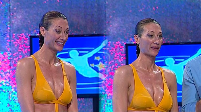 Mónica Pont Bikini Concursante Telecinco Mira Quién Salta 5