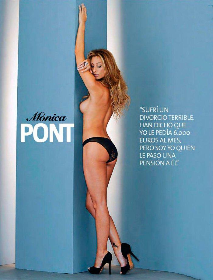 Mónica Pont Desnuda Revista Interviu