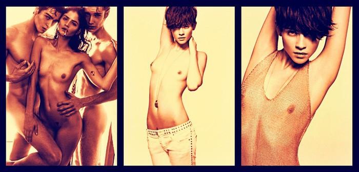 Alba Galocha Modelo Española Sesión Fotos Topless
