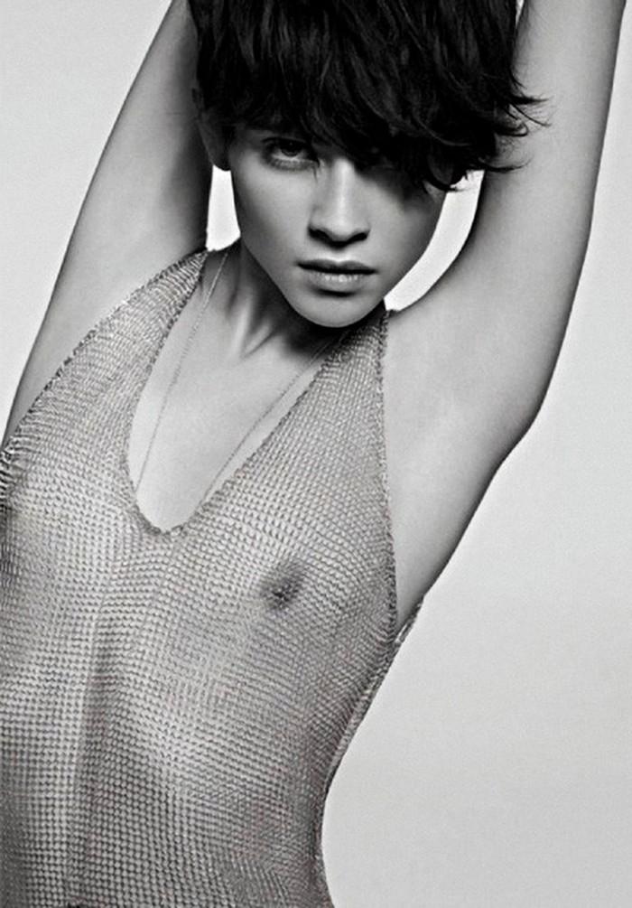Alba Galocha Modelo Española Topless
