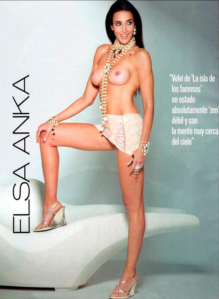 Elsa Anka Desnuda Revista Interviu 2