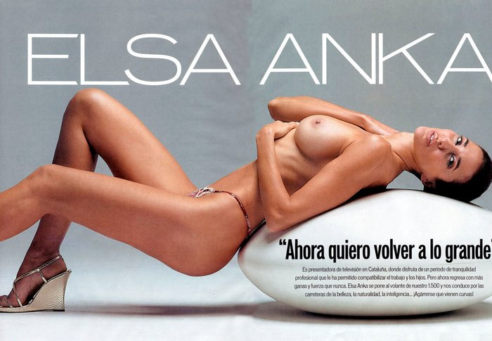 Elsa Anka Desnuda Revista Interviu 7