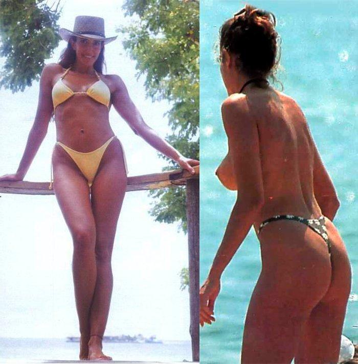 Elsa Anka Pillada Fotos Topless Playa 7