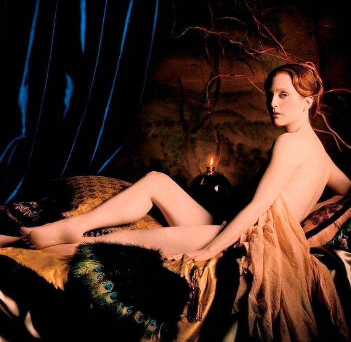 Julianne Moore Desnudo Artístico