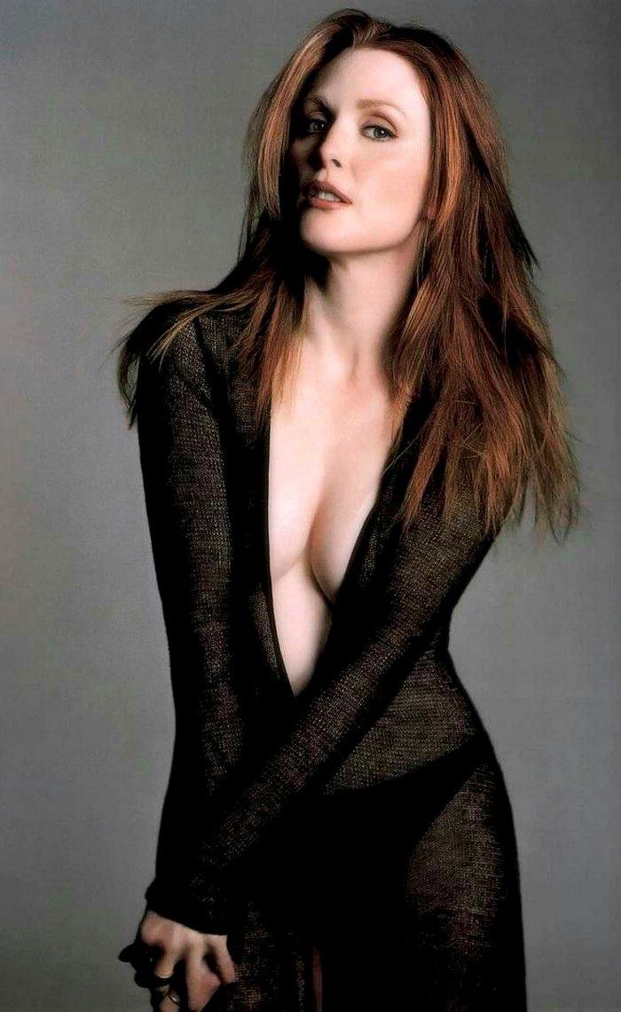 Julianne Moore Fotos Eróticas Sensuales Ropa Interior