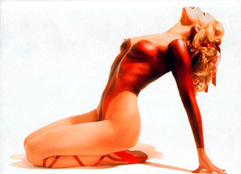 Elizabeth Berkley Desnuda Fotografía Actriz Película Showgirls