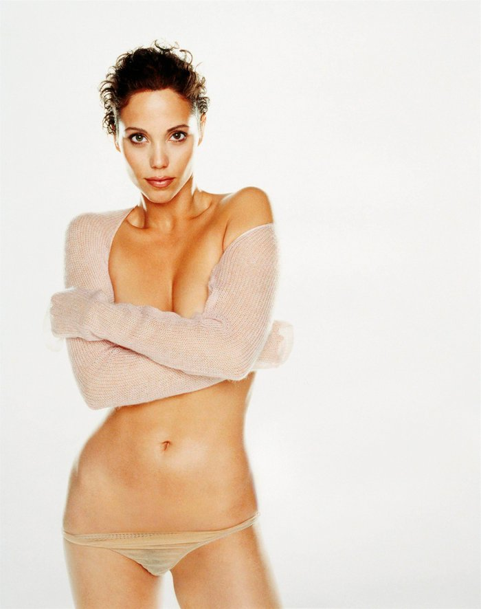 Elizabeth Berkley Ropa Interior Transparencias 3