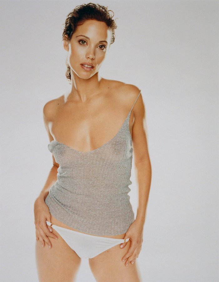 Elizabeth Berkley Ropa Interior Transparencias