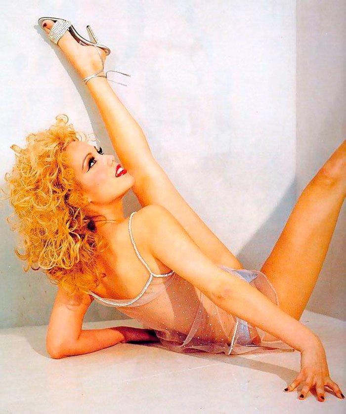 Elizabeth Berkley Stripper Showgirl